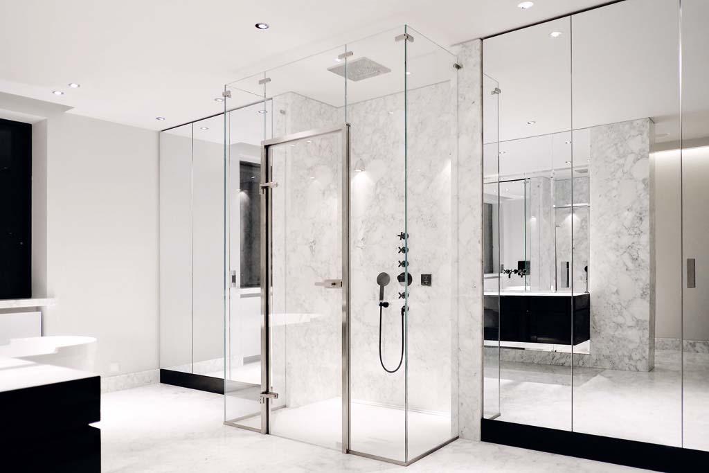 Duschkabine Glasdusche