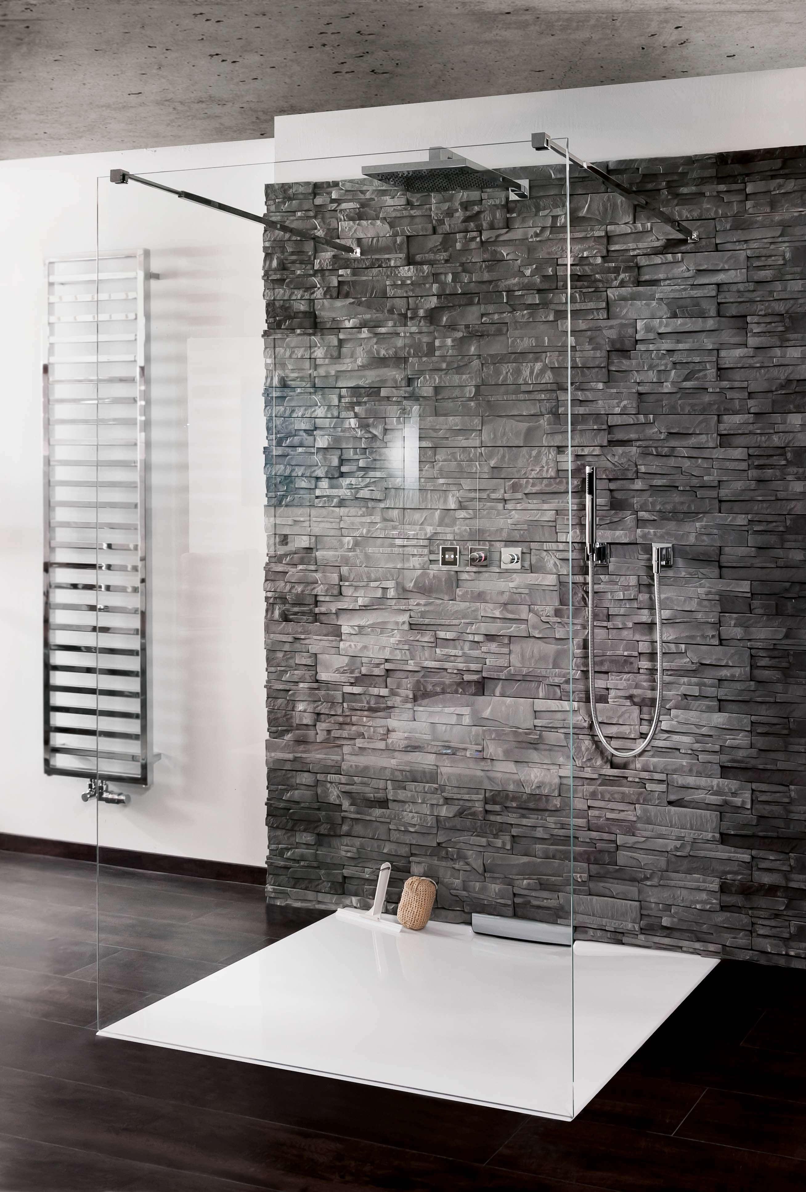 Duschkabine Glasdusche Walk In Dusche