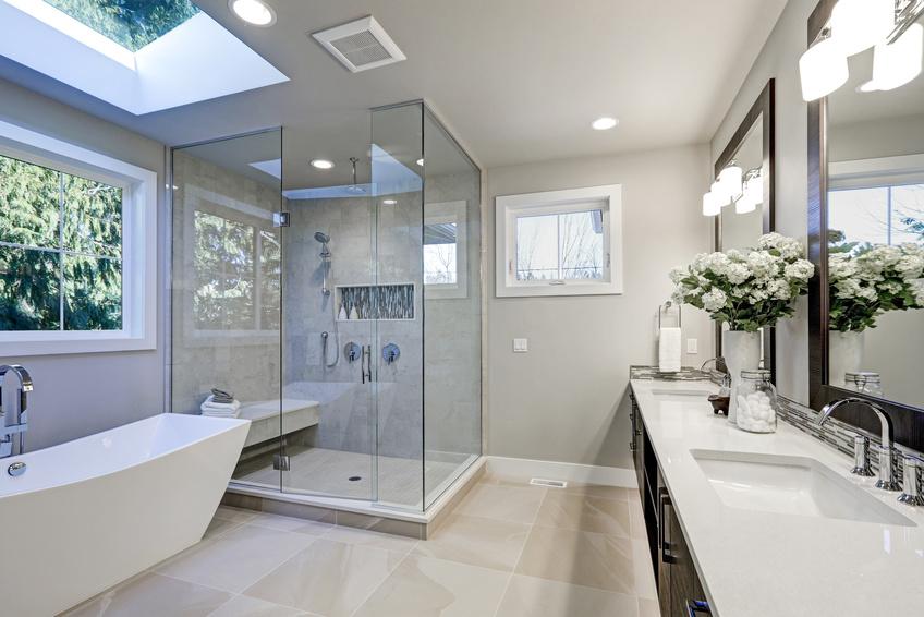 Duschkabine Glasdusche Spiegel